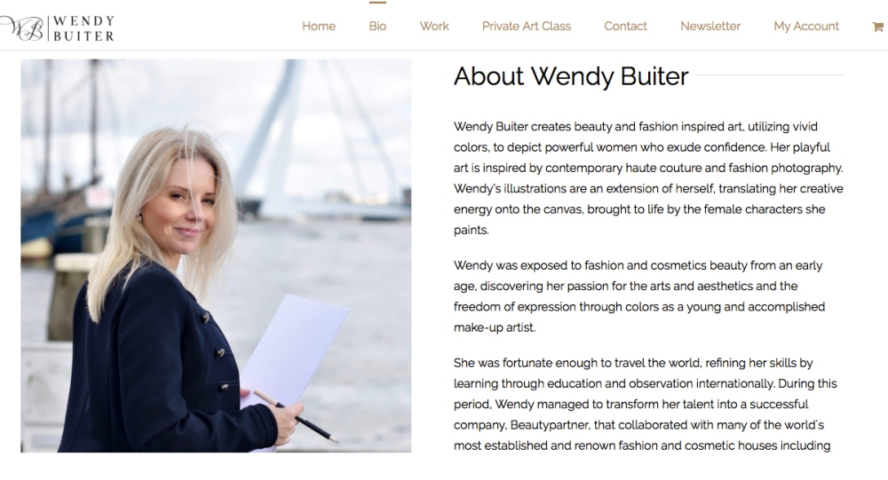 Digital marketing strategy & Branding - Wendy Buiter